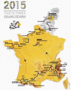 Map Route Tour 2015