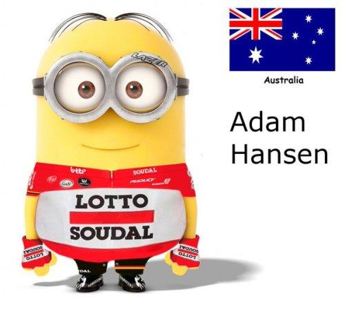 Adam Hansen team kit