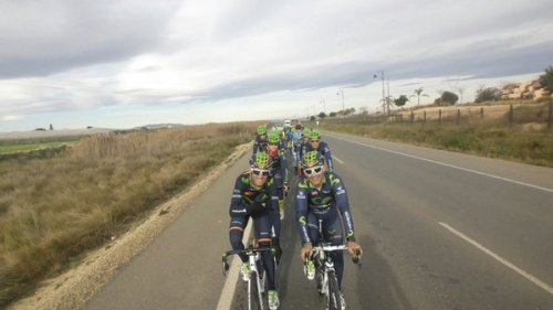 alejandro valverde training camp