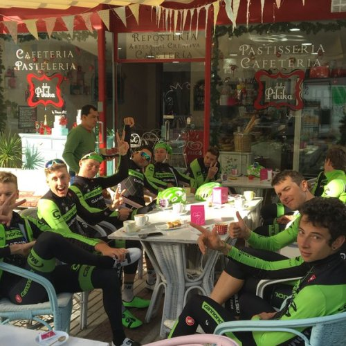 Cannondale coffee ride Sebas L