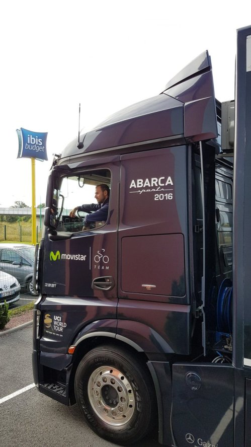 Valverde just ride the truck